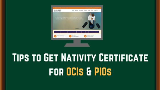 OCIs & PIOs