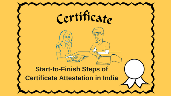 how to attest certificates in abroad