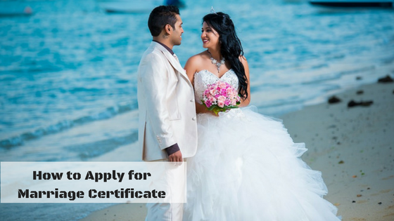 get marriage certificate