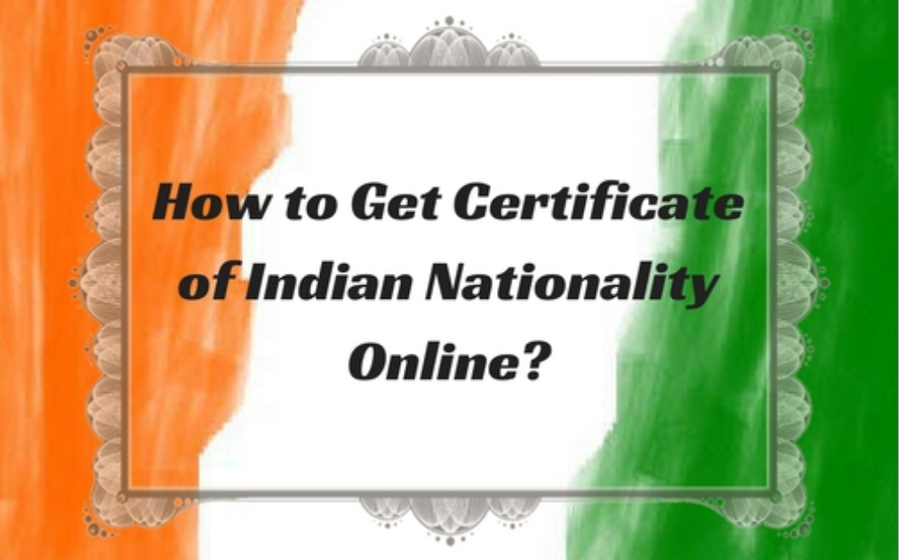 certificate nationality indian nri