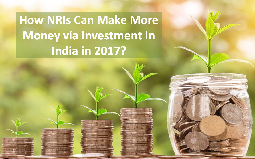 NRIs Can Make More Money via Investment